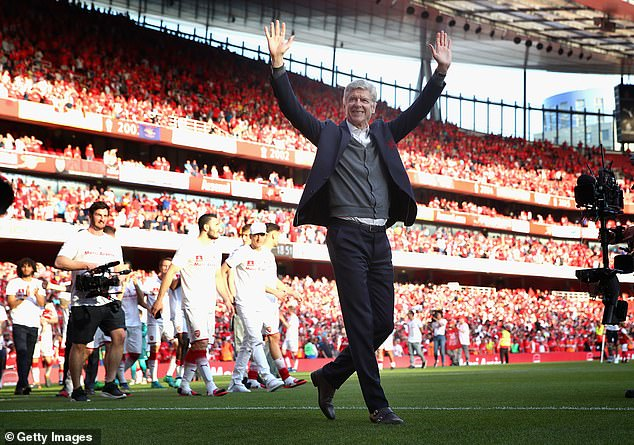Wenger has successfully completed 1,235 games and led the Invincibles national season in 2004