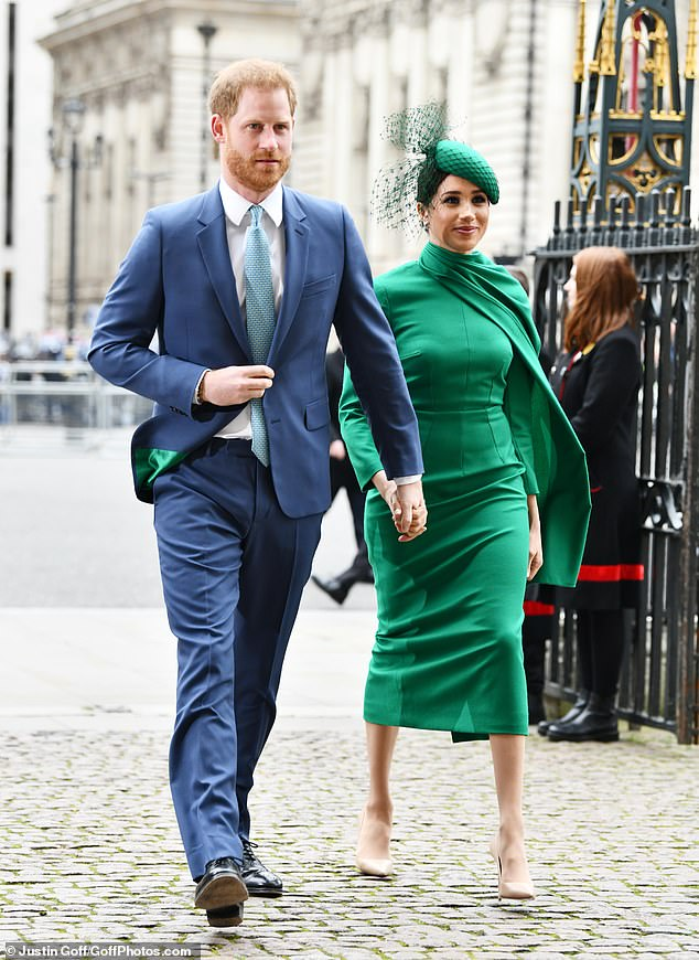 The Duke and Duchess of Sussex retired from royal office in late March before settling in Los Angeles