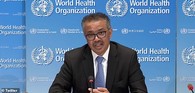 WHO director-general Dr Tedros Adhanom Ghebreyesus (photo) said the decision came after a study found higher mortality rates among COVID-19 patients who took the drug on Friday