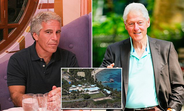 Bill Clinton 'was seen with Jeffrey Epstein on sex offenders' island'