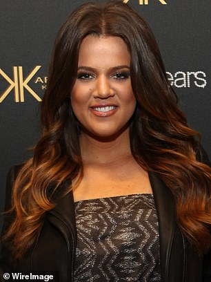 Dramatic: McGuinness speculated that Khloé had changed his appearance so dramatically through a combination of `` surgery, injectables, weight loss ... and filters, makeup and lighting. '' Pictured: Khloé April 20, 2012