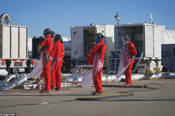 Ground crew before Monday's launch failure. Disappointing Virgin Orbit launch comes just days after Branson dumped roughly $ 41 million worth of shares in sister company Virgin Galactic