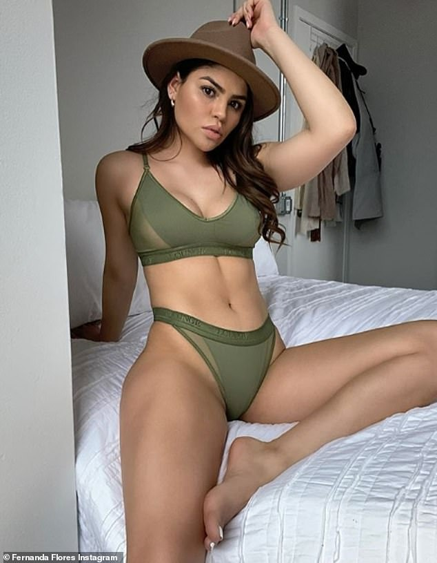 Ready for the next date: `` I can't wait for this quarantine to be over and for me to have a real date with him, where I can physically touch his muscles and have physical contact, '' the star said. 90 Day Fiance; Fernanda photographed on Instagram in April