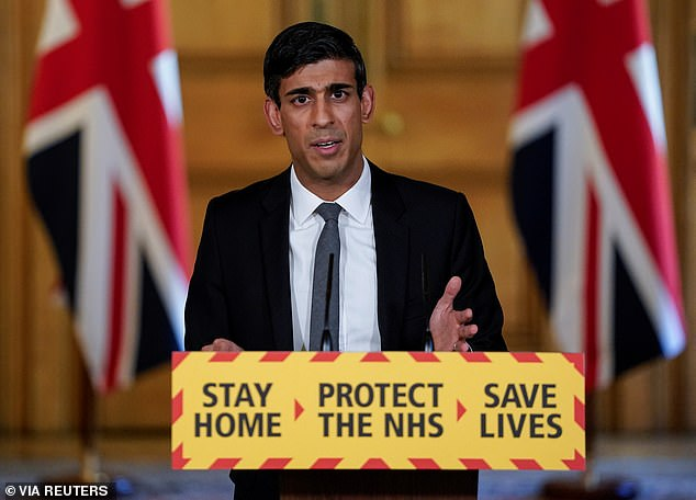 ... only to increase if the popular chancellor of the Exchequer Rishi Sunak takes the reins
