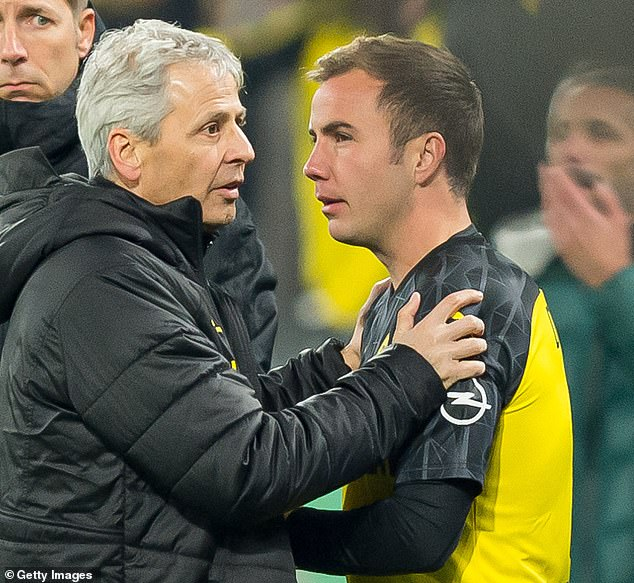 Dortmund manager Lucien Favre has been questioned on Gotze several times since joining the club