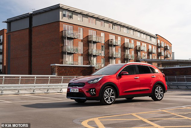 The Kia Niro is available with conventional engines, a plug-in hybrid version and a fully electric version. The one tested here is the self-loading hybrid model