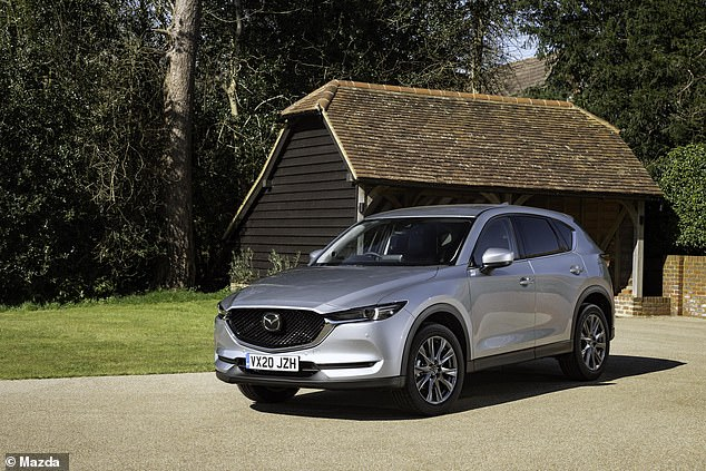 The Mazda CX-5 has a True MPG figure of 48.3 mpg, which means it only needs 5.5 gallons of diesel to make the same 264-mile trip