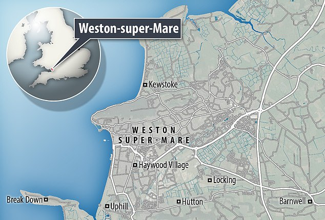 Weston-super-Mare is in Somerset, the South West. The region has been the least affected by the coronavirus so far