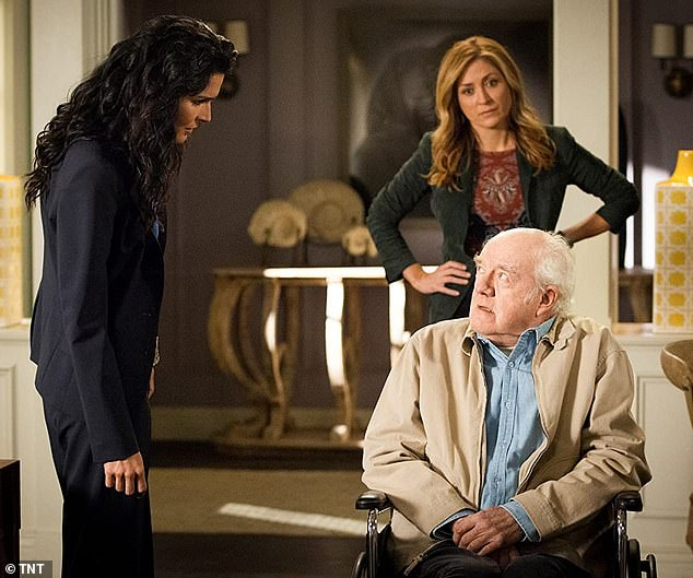 A staple: In 2010 with Angie Harmon and Sasha Alexander on Rizzoli & Isles