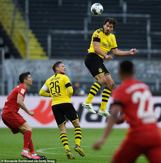 Mats Hummels was brilliant for Dortmund and was not mistaken after his early booking