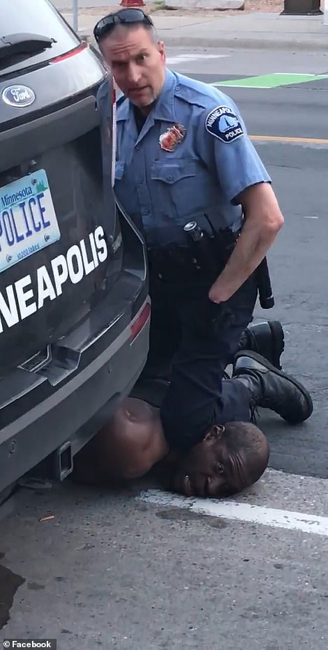 The man is heard repeatedly telling cops he can't breathe