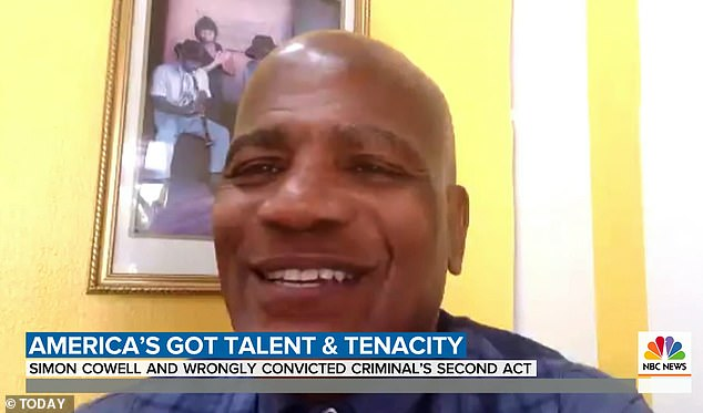 Amazing: Williams, who spent 36 years in prison for a crime he didn't commit, told Natalie Morales today that he wanted to `` make up for all the lost years ''