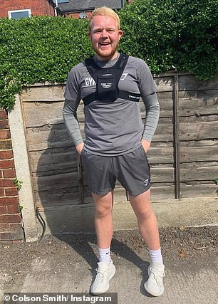 'I'll need to wear a fat suit!' Colson Smith has spoken about how his staggering weight loss (pictured earlier this month) will cause continuity issues on Coronation Street when filming resumes