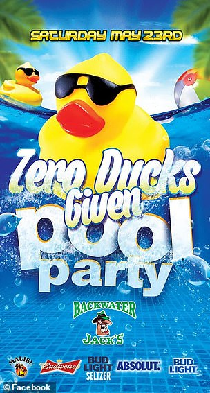 Zero Ducks Given organizers said they worked with government officials to kick off the pool season safely and stated on Facebook that there would be reduced capacity.