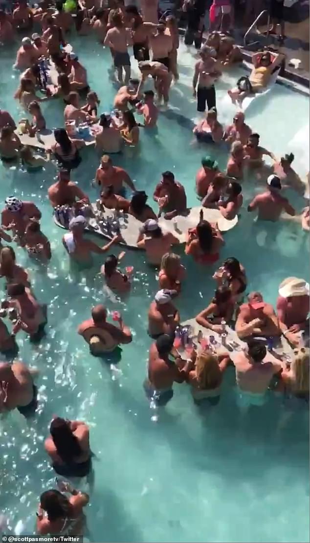 The Zero Ducks Given Memorial Day Weekend party faced backlash over the lack of social distancing after photos surfaced on social media
