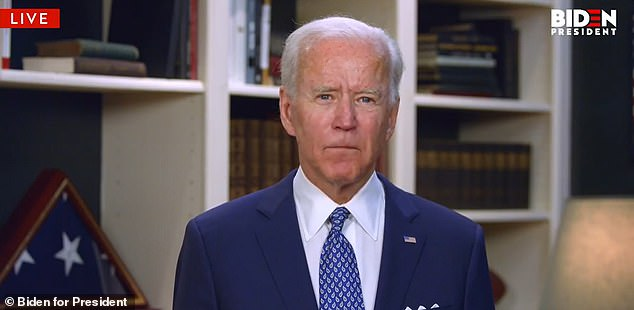 Presumed Democratic nominee Joe Biden called on Sunday for an end to the violent riots that broke out in the wake of the killing of a black man, George Floyd, by a white police officer