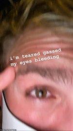 """Insta :  Jake Paul nie avoir été pillé après avoir été gazé aux larmes tout en """" documentant """" le pillage"""