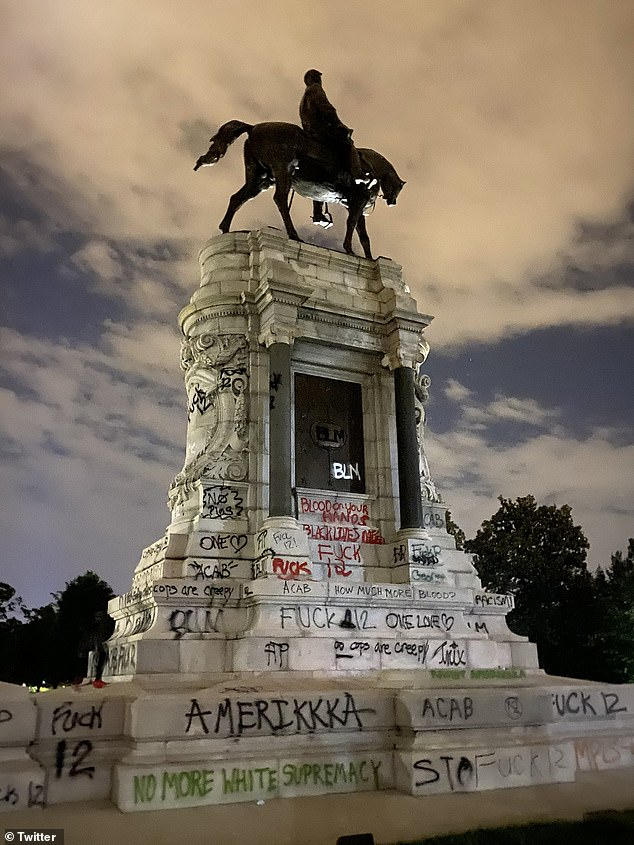 Protesters in some cities target Confederate monuments - Tounesna News
