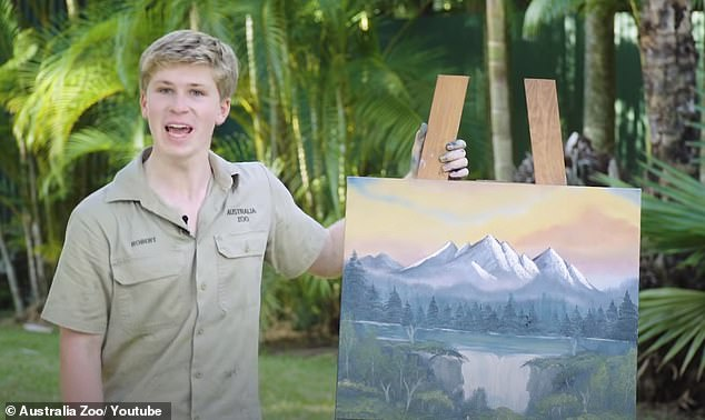Secret talent! In June, Robert surprised fans when he released a time-lapse video of his latest masterpiece