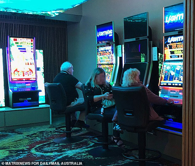 From the time the doors to the gaming goliath - which more closely resembles a casino than an RSL - opened at 10am, a steady stream of one-time regulars returned to their chairs across the complex