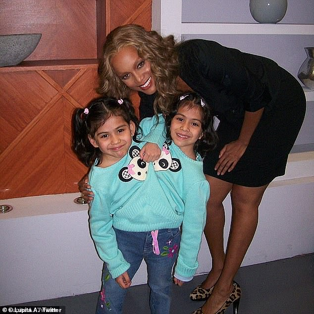 When Lupita and Carmen were young, they spent years in physical therapy learning how to sit up and work together to use their legs and when they were four years old, they took their first steps together (pictured as guests on The Tyra Banks Show in 2007)