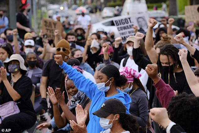 Protests have taken place across the United States since Floyd's killing on May 25