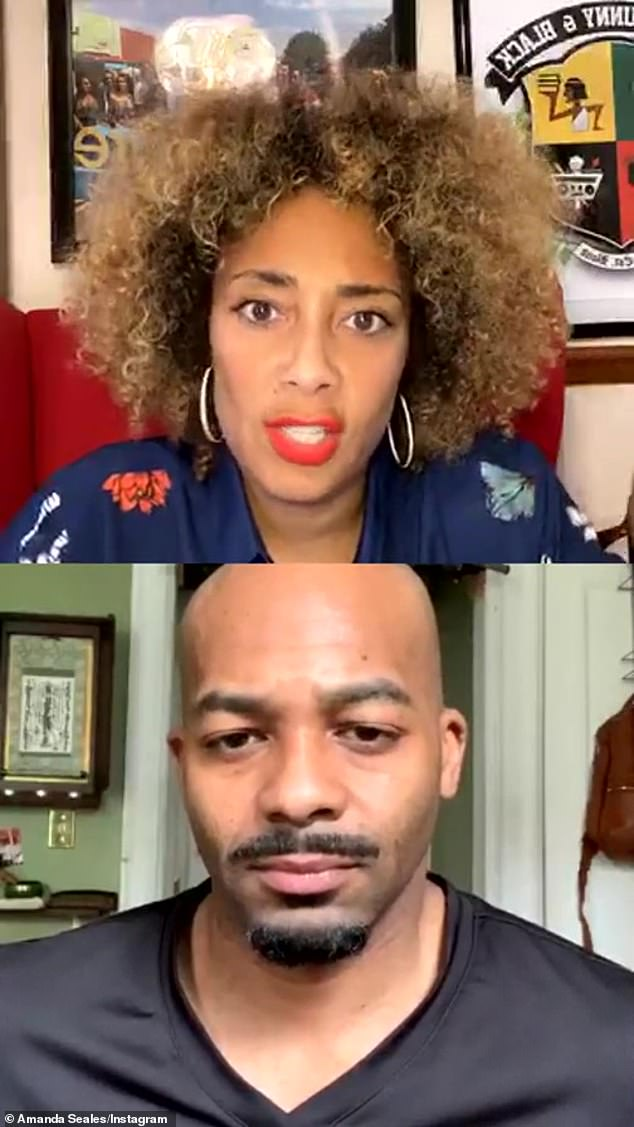 'My contract is up at The Real, and I didn't renew it,' Amanda simply stated in the Instagram Live with actor Brandon Dixon