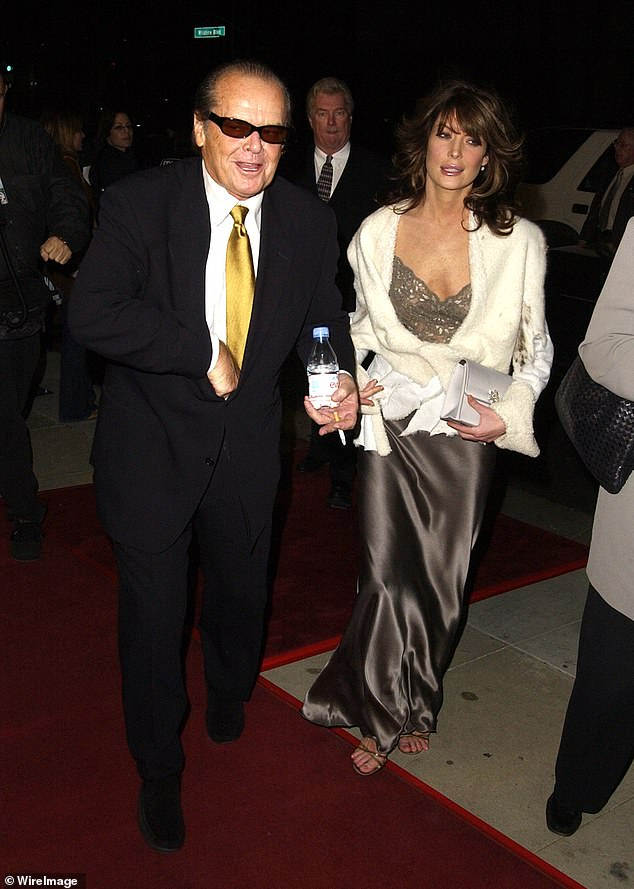 They were front page news:Boyle dated A Few Good Men actor Nicholson, who is 33 years her senior. They went public with their romance at the 1999 Emmys, and remained together until the end of 2000. Seen in 2002