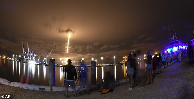 The 60 satellites launched atop the firm's Falcon 9 rocket from Cape Canaveral, Florida at 8:55pm EDT on June 3 (1:55am BST June 4)