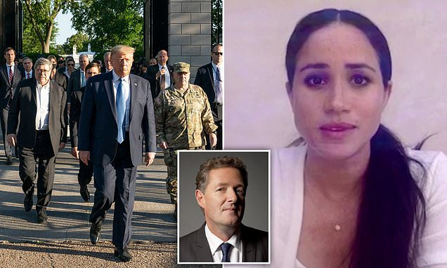 PIERS MORGAN: Mr President, stop dividing a country crying out in pain