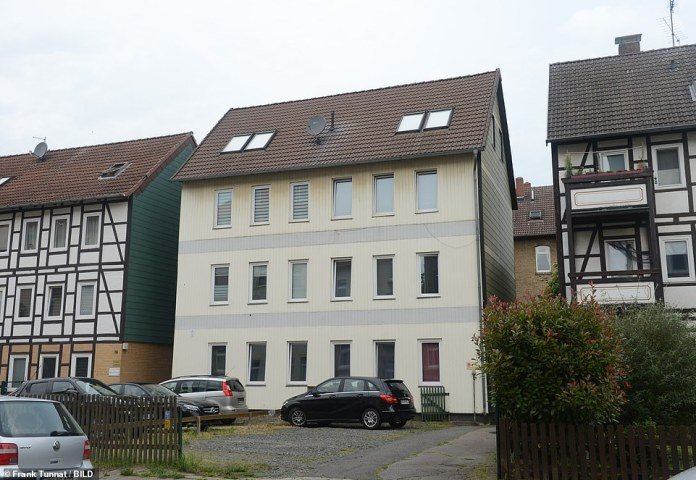 This is the home of Christian Brueckner in Braunschweig near Hanover, where he had lived before fleeing to Italy and was arrested for rape on an American in Praia da Luz