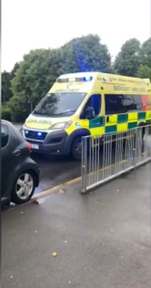 Tia-anne Sterling shared footage of the emergency vehicle fighting to get through traffic, writing, `` I am absolutely dismayed at how selfish people are. Nobody lets these ambulances pass. I feel sick'