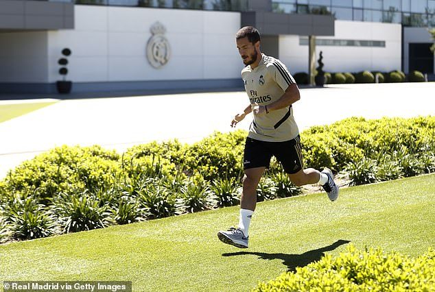 The 29-year-old is back in fitter training than his teammates