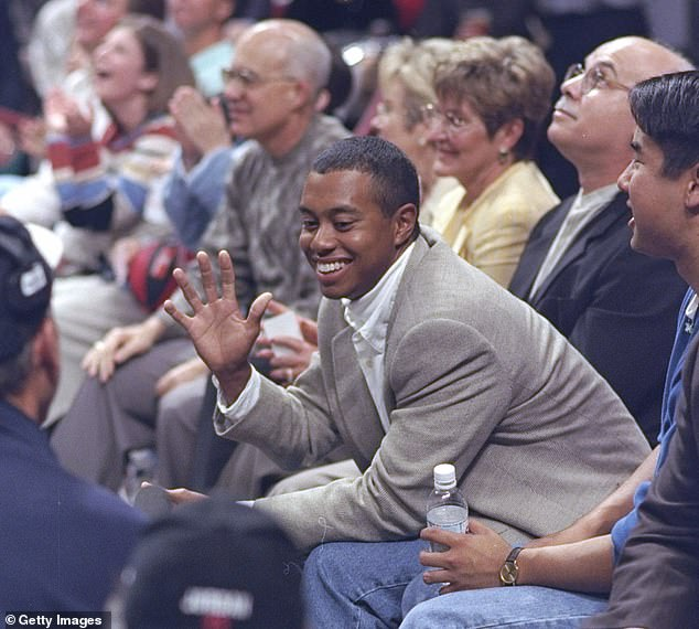 Woods then observes that his close friend Jordan plays for the Chicago Bulls in 1997
