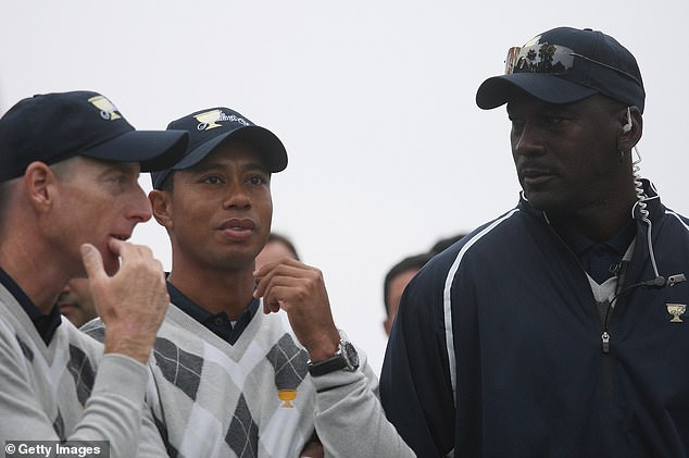 Jordan would regularly attend professional golf competitions, including US team events