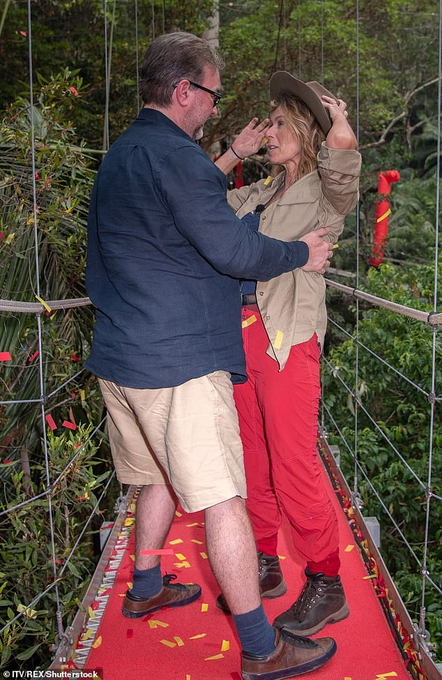 Nice surprise: GMB host previously revealed that the couple is ready to renew their wedding vows after Derek asked the question again after leaving the jungle I'm A Celebrity