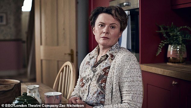 Exciting: Monica Dolan portrayed as Lorna in The Shrine