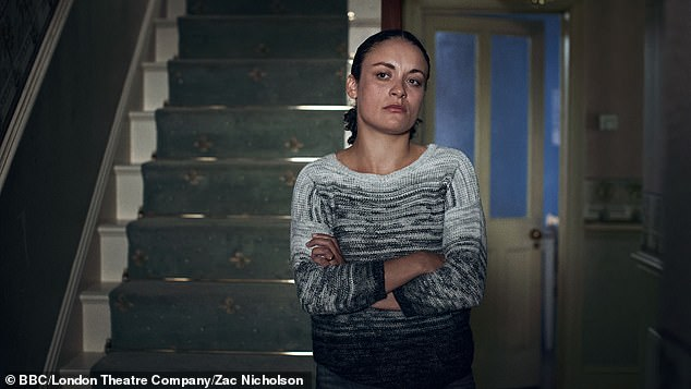 Pictured: Line Of Duty star Rochenda Sandall, portrayed as Marjory in The Outside Dog