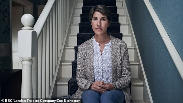 Character: Tamsin Greig depicted as rosemary at nights in the Garden of Spain