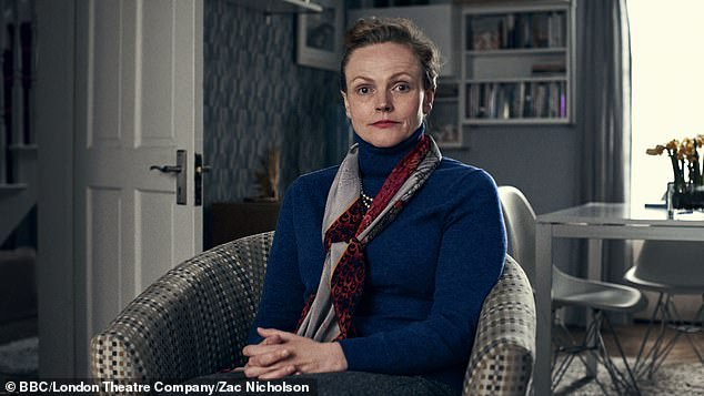 Role: Maxine Peake photographed in the show of Miss Fozzard finds her feet