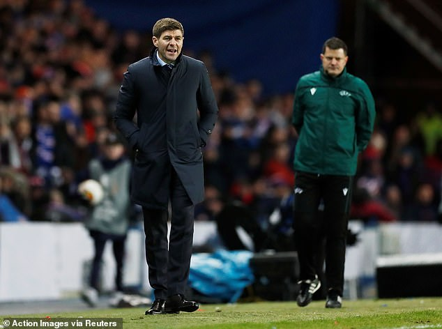 Gerrard is in charge of the giants of the Premiership scottish Rangers, his first senior position in management