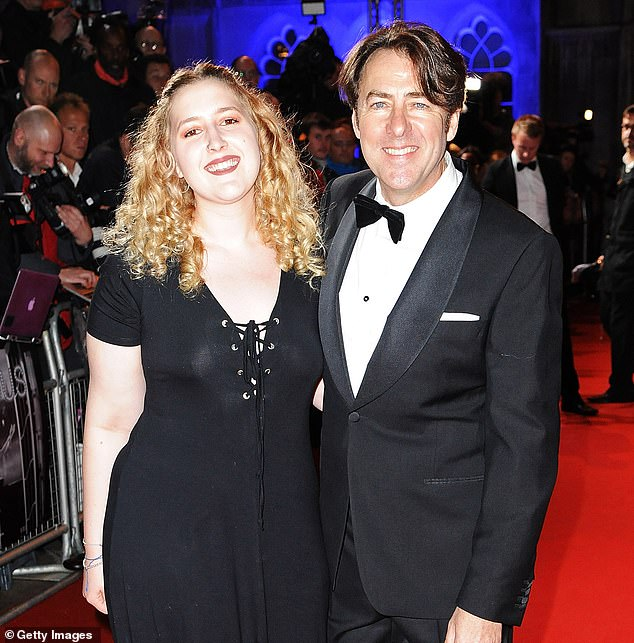 Re-think: Elsewhere, Jonathan Ross backtracked on his comments about J.K. Rowling, after he defended the Harry Potter novelist's remarks about transgender people [pictured in 2015]