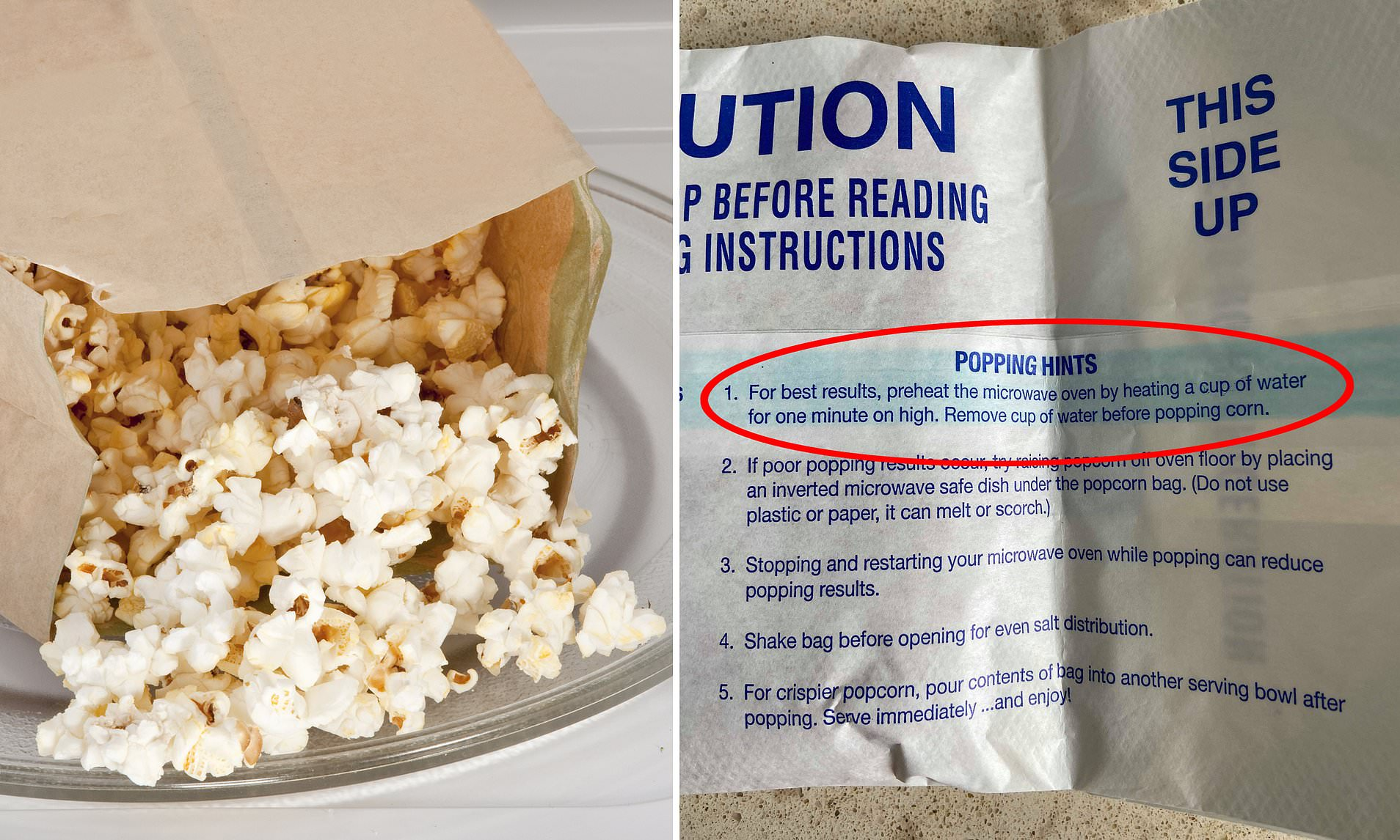 been microwaving your popcorn wrong