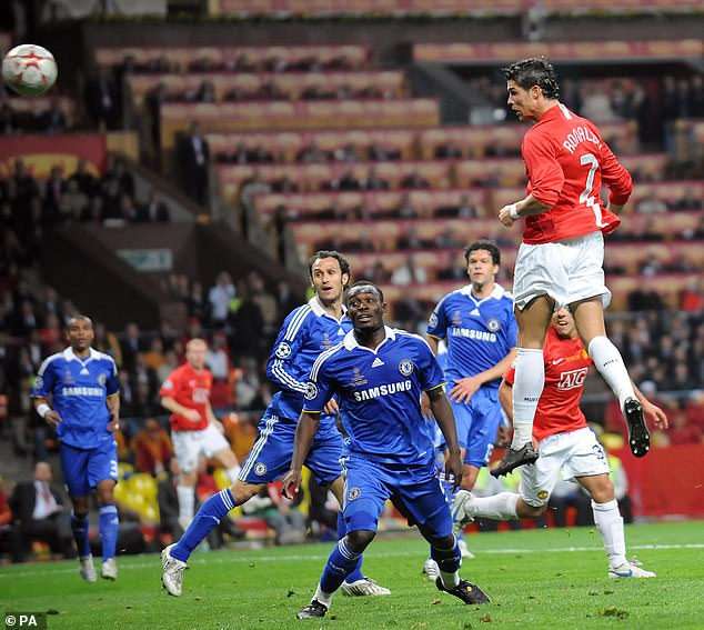 Ronaldo scored United's goal in a 1-1 draw with Premier League rivals Chelsea in the final
