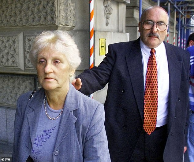 The parents of Stephen Cameron, Toni (left) and Ken Cameron outside the Old Bailey, London