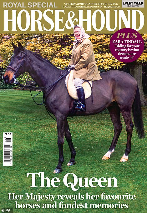 The monarch shared a list of his favorite horses with The Horse and Hound