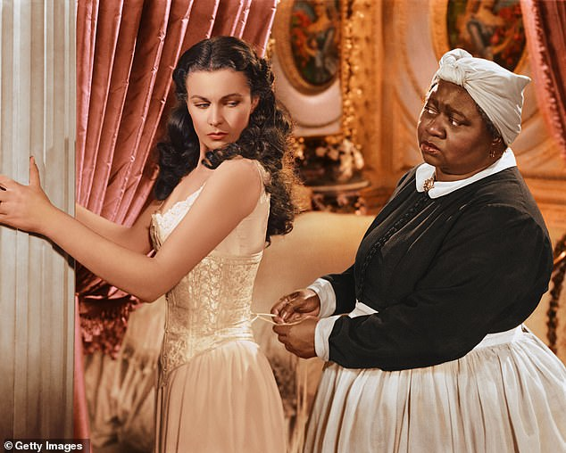 Off-air: Hattie McDaniel, as Mammy, with Vivien Leigh as Scarlett O'Hara in Gone With The Wind, which HBO Max removed from its streaming service on Tuesday amid criticism of the content