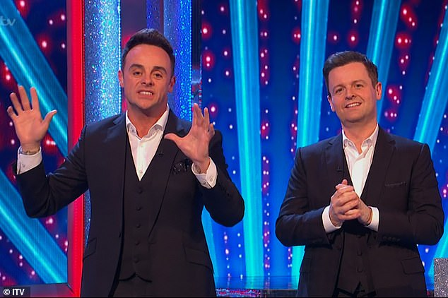 Public apologies: Ant and Dec have apologized to their Twitter followers for spoofing the identity of people of color in takeout sketches on Saturday night