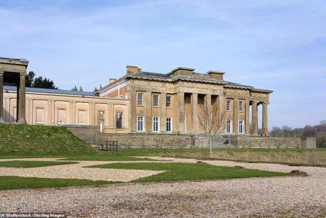 The magnificent Grange at Northington, built in the mid 1660s, is a symbol of Greek revivalism in England and is likened to a Athenian temple