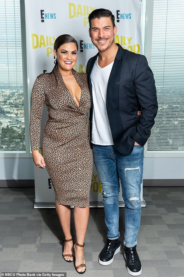 His wife: Jax with his wife hsis Brittany Cartwright of Vanderpump Rules